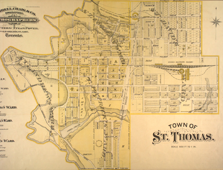 saint thomas on canada city pictures st thomas